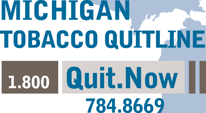 Michigan Tobacco QuitLine™ Be tobacco free